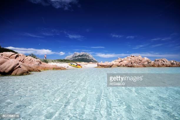 Tavolara island Loiri Porto San Paolo Sardinia Italy
