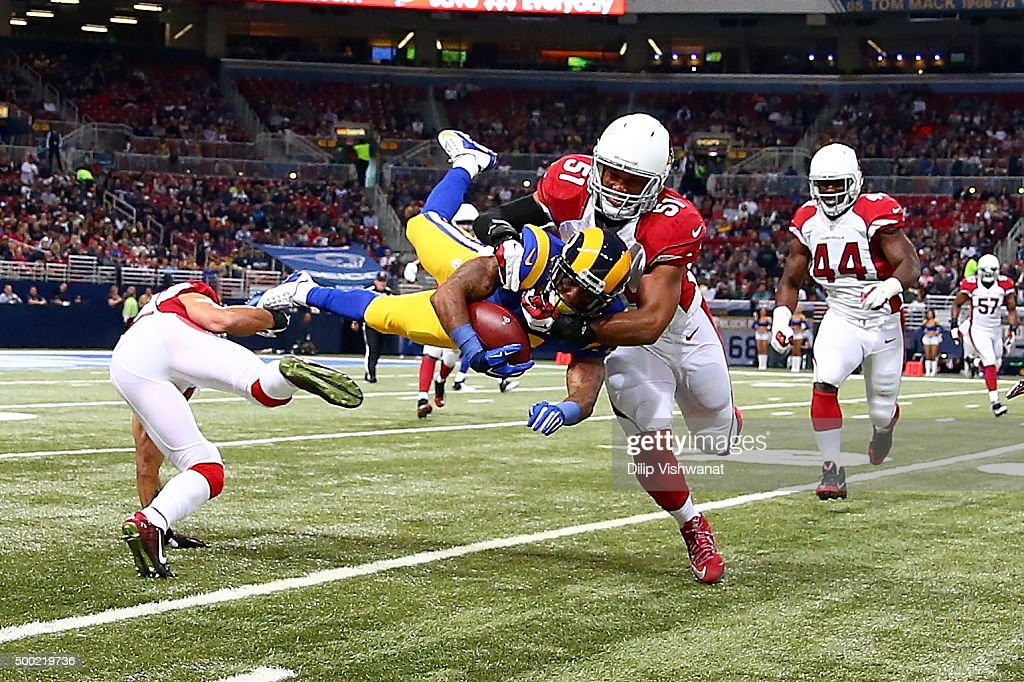 Arizona Cardinals v St Louis Rams