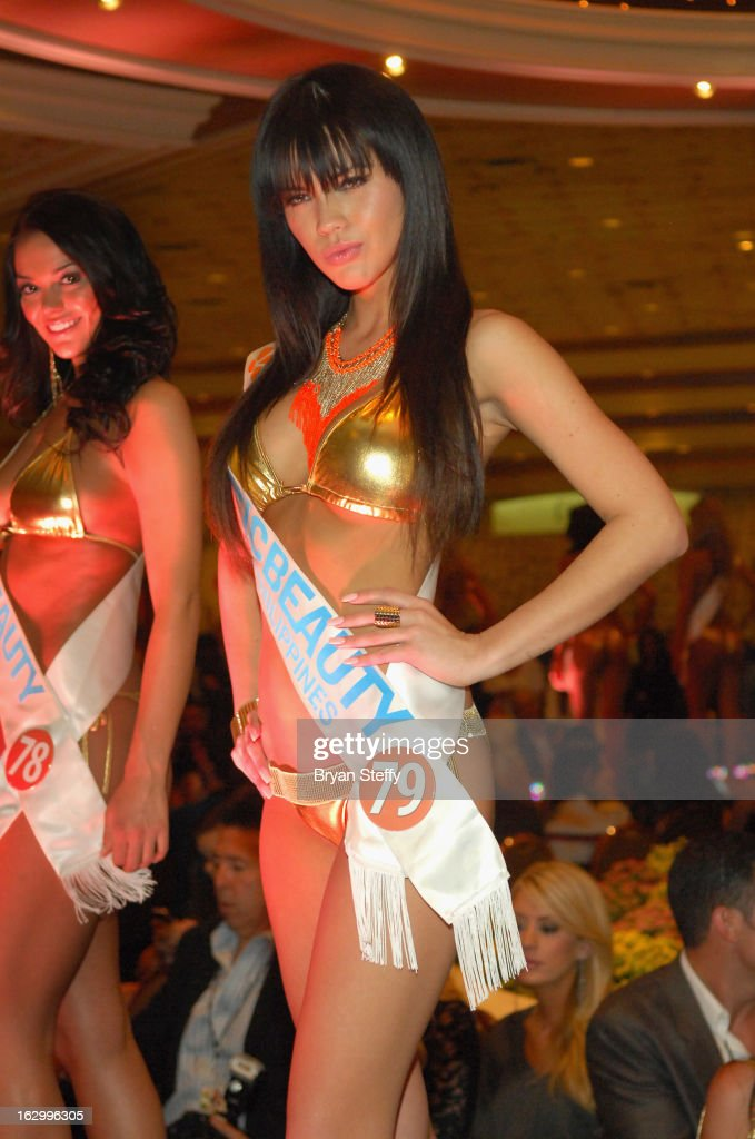 Tawny Ring of the Philippines competes at the third annual TropicBeauty World Finals at the MGM Grand Hotel/Casino on March 2, 2013 in Las Vegas, Nevada.