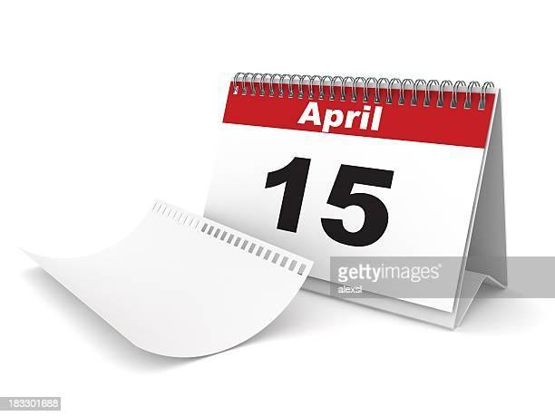 TAXE jour calendrier