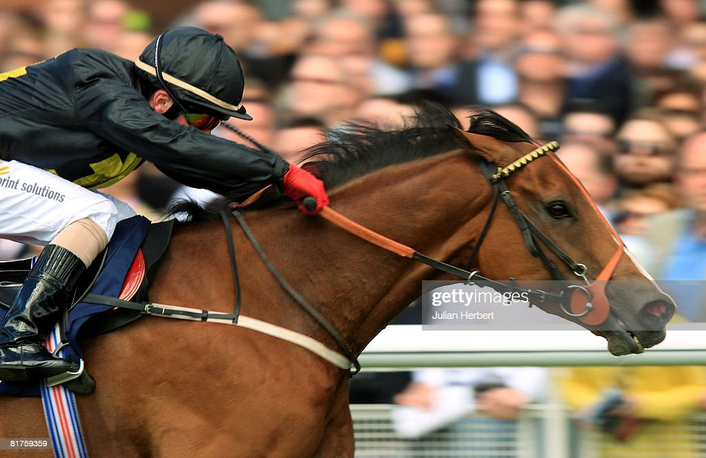 Tax Free ridden by Adrian Nicholls lands the William Fry Sapphire Stakes race run at The Curragh Racecourse on June 29 at The Curragh Ireland