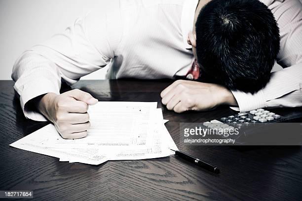 Steuern frustration