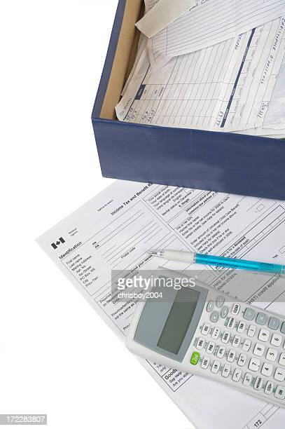 Tax return items and documents