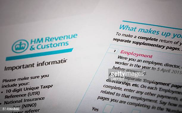 HMRC Tax return