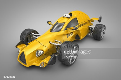 taxi bolid : Stock Photo
