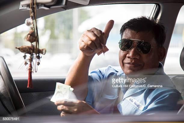 Taxi driver, Bangkok, Thailand