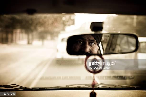 Motorista de Táxi de Nova Deli