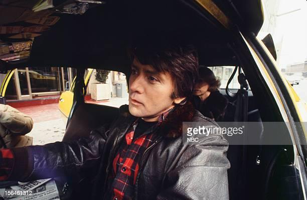 FAME 'Taxi' Episode 2704 Pictured Martin Sheen as Taxi Driver Eva Marie Saint as Passenger