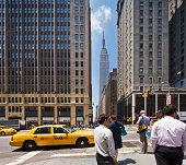 Taxi in Park Avenue
