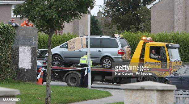 A taxi in which a man was shot dead in last night is removed from the scene in Finglas north Dublin A notorious armed robber who sparked a prison...