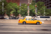 Taxi on new york city