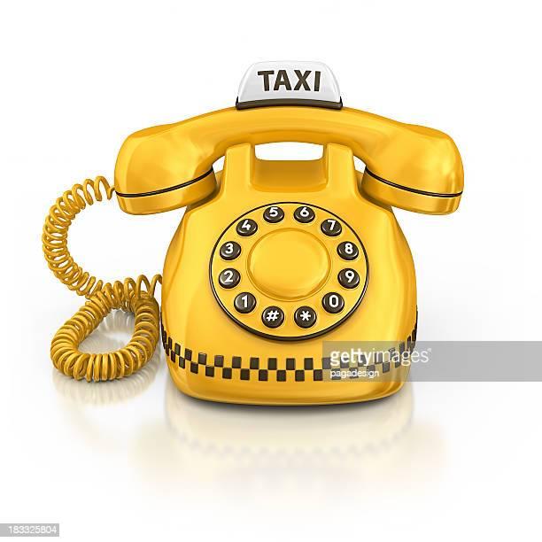 taxi de téléphone