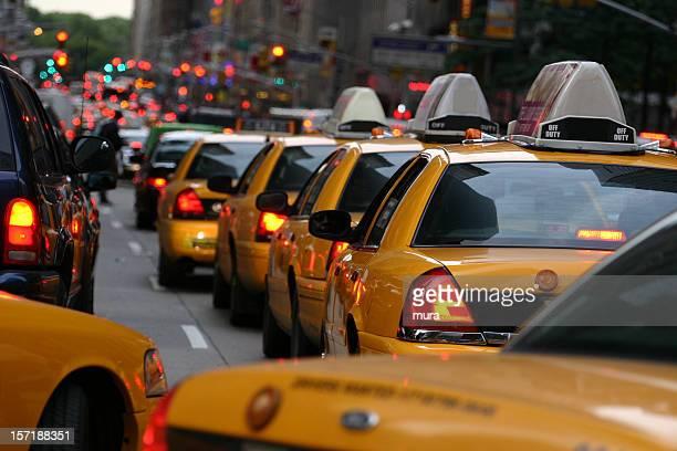 Taxi row on 5.avenue