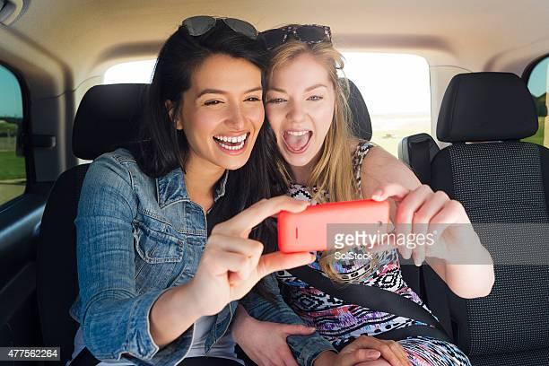 Taxi Selfie!
