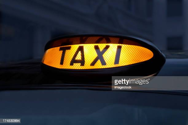 Enseigne de Taxi