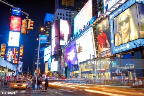 タクシーで 7 th Avenue タイムズスクエア(ニューヨーク市)