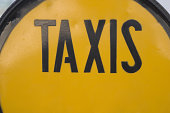 Taxis sign