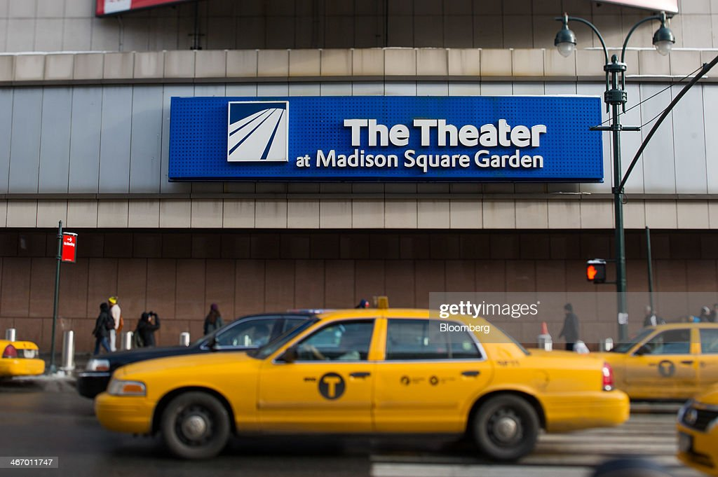 Views of madison square garden ahead of earnings data The theater at madison square garden