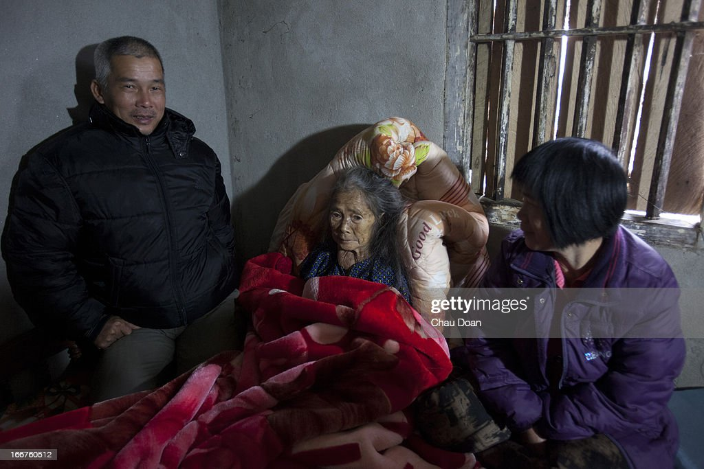 Tay ethnic minority woman Nong Thi Hanh fist right was trafficked to China in 1992 She was forced to get married to a Chinese man named Duoc Cam Van...