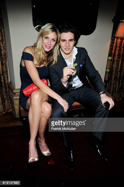 Taya Ladame Nathan Rover attend NICOLAS BERGGRUEN's 2010 Annual Party at the Chateau Marmont on March 3 2010 in West Hollywood California