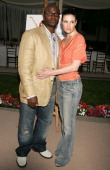 Taye Diggs and Idina Menzel during 'The Comeback' HBO Los Angeles Premiere Arrivals at Paramount Theater in Hollywood California United States