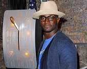 Taye Diggs appears in honor of STOMP Out Bullying and Blue Shirt Day World Day of Bullying Prevention at The Empire State Building on October 5 2015...