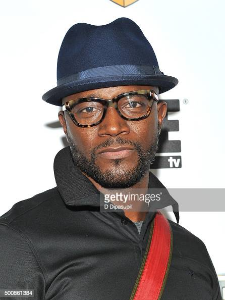 Taye Diggs attends as WE tv Celebrates The Premiere Of New Series Growing Up Hip Hop on December 10 2015 in New York City