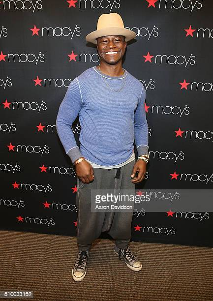 Taye Diggs attends Jurnee SmollettBell and Taye Diggs celebrate Black History Month at Macy's at Aventura Mall on February 13 2016 in Miami Florida