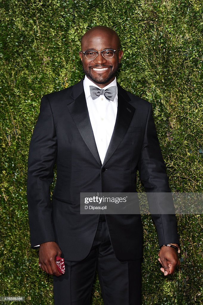 Taye Diggs attends the American Theatre Wing's 69th Annual Tony Awards at Radio City Music Hall on June 7, 2015 in New York City.