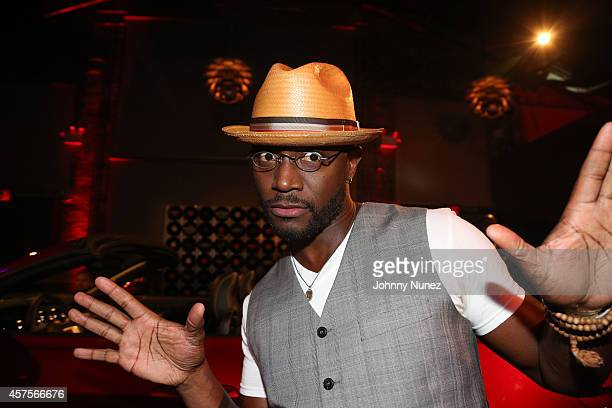 Taye Diggs attends the Ford and Hard Rock Hotels Casinos event 'The Mustang Roadhouse' on Monday October 20 2014 in New York City The collaboration...