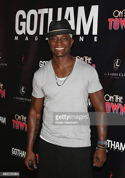 Taye Diggs attends the Gotham Magazine Celebrates Misty Copeland's Broadway Debut In On The Town on August 25 2015 in New York City