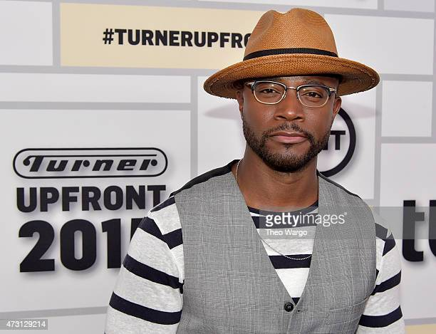 Taye Diggs attends the Turner Upfront 2015 at Madison Square Garden on May 13 2015 in New York City 25201_002_TW_0067JPG