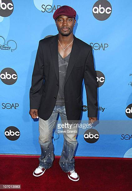 Taye Diggs during ABC All Star Party 2006 Arrivals at Rose Bowl in Pasadena California United States