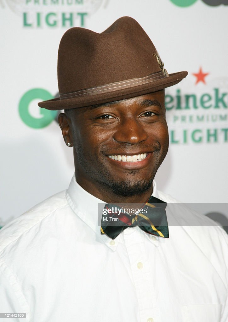 <a gi-track='captionPersonalityLinkClicked' href=/galleries/search?phrase=Taye+Diggs&family=editorial&specificpeople=206415 ng-click='$event.stopPropagation()'>Taye Diggs</a> during GQ Magazine Celebrates Heineken Premium Light at Les Deux in Hollywood, California, United States.