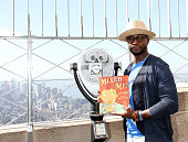 Taye Diggs Visits The 'Empire State Building To Kick Off 'STOMP Out Bullying' Campaign at The Empire State Building on October 5 2015 in New York City