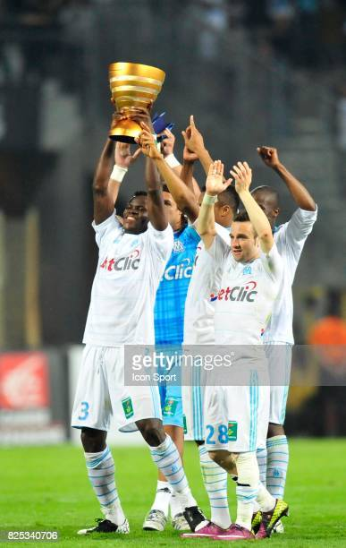 Taye TAIWO / Mathieu VALBUENA Marseille / Nice Match en retard de la 32e journee Ligue 1