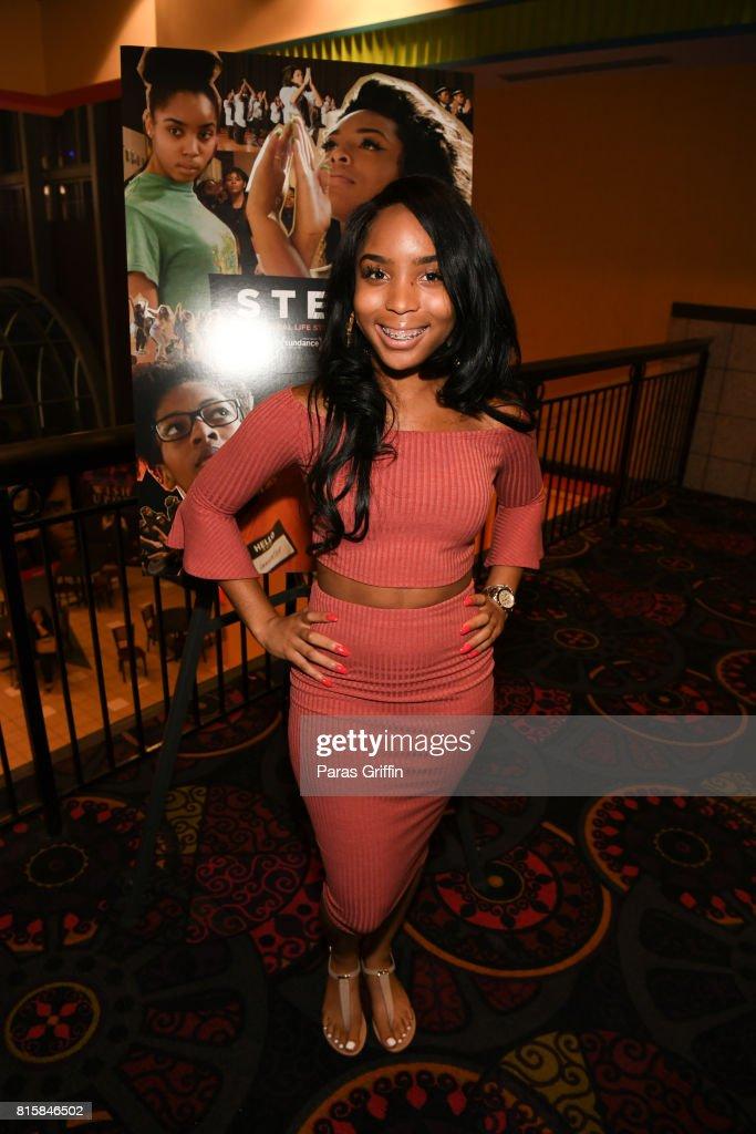 Tayla Solomon at 'Step' documentary Atlanta Screening at Regal Cinemas Atlantic Station Stadium 16 on July 16, 2017 in Atlanta, Georgia.