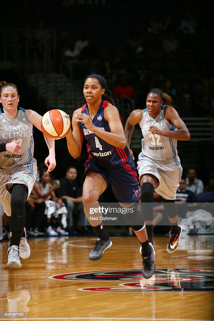 <a gi-track='captionPersonalityLinkClicked' href=/galleries/search?phrase=Tayler+Hill&family=editorial&specificpeople=5791962 ng-click='$event.stopPropagation()'>Tayler Hill</a> #4 of the Washington Mystics drives to the basket against the Washington Mystics during game on June 26, 2016 at Verizon Center in Washington, District of Columbia.