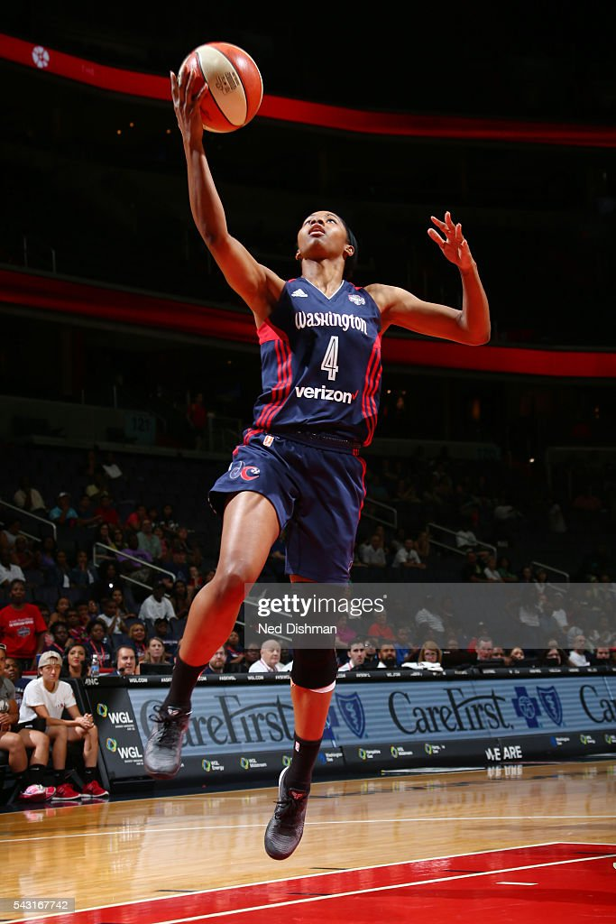 <a gi-track='captionPersonalityLinkClicked' href=/galleries/search?phrase=Tayler+Hill&family=editorial&specificpeople=5791962 ng-click='$event.stopPropagation()'>Tayler Hill</a> #4 of the Washington Mystics goes for the lay up against the Minnesota Lynx during game on June 26, 2016 at Verizon Center in Washington, District of Columbia.