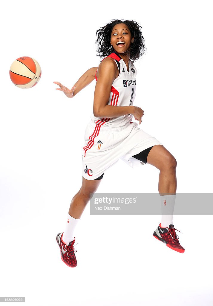 <a gi-track='captionPersonalityLinkClicked' href=/galleries/search?phrase=Tayler+Hill&family=editorial&specificpeople=5791962 ng-click='$event.stopPropagation()'>Tayler Hill</a> #4 of the Washington Mystics poses for a photo during 2013 Washington Mystics media day at the Verizon Center on May 9, 2013 in Washington D.C.