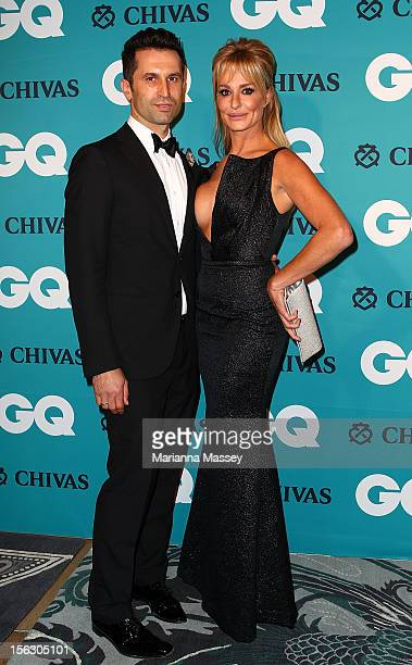 Taylor Armstrong and John Bechini at the GQ Men of the Year Awards 2012 on November 13 2012 in Sydney Australia