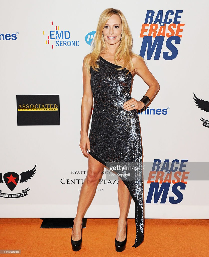 Taylor Armstrong arrives at the 19th Annual Race To Erase MS Event at the Hyatt Regency Century Plaza on May 18, 2012 in Century City, California.