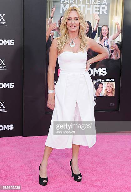 Taylor Armstrong arrives at the Los Angeles Premiere 'Bad Moms' at Mann Village Theatre on July 26 2016 in Westwood California