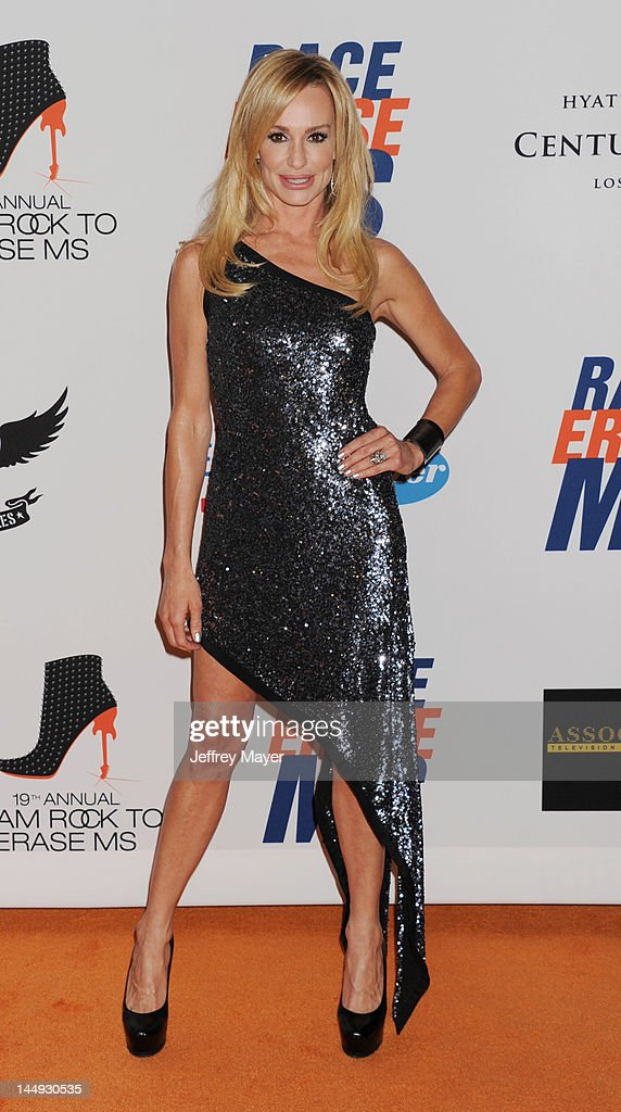 <a gi-track='captionPersonalityLinkClicked' href=/galleries/search?phrase=Taylor+Armstrong&family=editorial&specificpeople=6903739 ng-click='$event.stopPropagation()'>Taylor Armstrong</a> attends 19th Annual Race To Erase MS Event at the Hyatt Regency Century Plaza on May 18, 2012 in Century City, California.