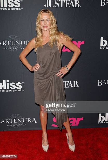 Taylor Armstrong attends Star Magazine's Scene Stealers party at W Hollywood on October 22 2015 in Hollywood California