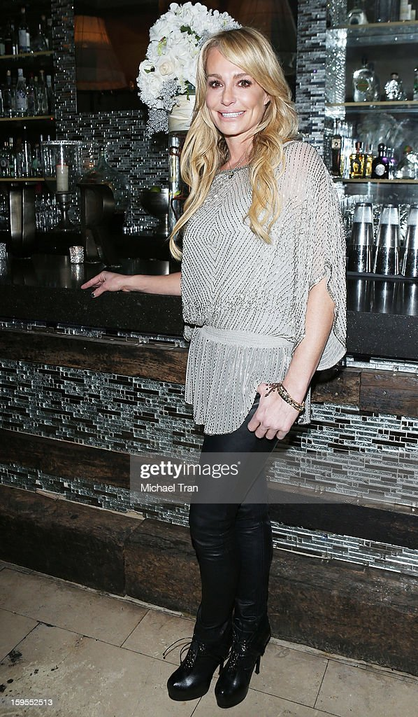 Taylor Armstrong attends the 'How Lavish Will Your 2013 Be?' event held at Sur Restaurant on January 15, 2013 in Los Angeles, California.