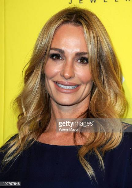 Taylor Armstrong attends the Kendra Scott Jewelry of Beverly Hills Grand Opening benefiting 'Blessings In A Backpack' on August 10 2011 in West...
