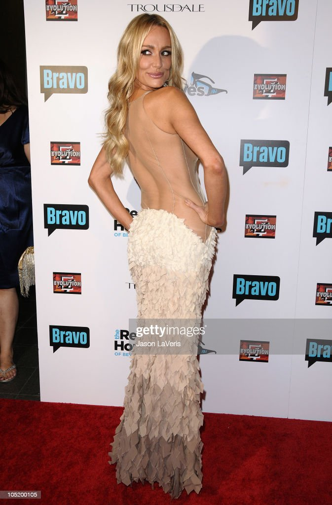 Taylor Armstrong attends 'The Real Housewives of Beverly Hills' series premiere party at Trousdale on October 11 2010 in West Hollywood California