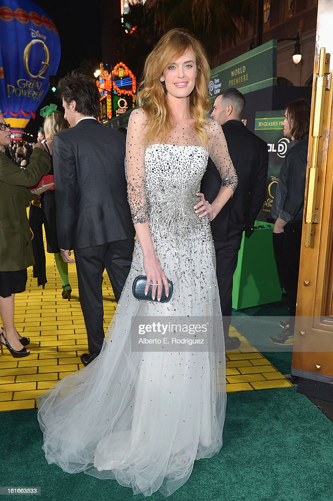 Taylor Bagley attends Walt Disney Pictures World Premiere of 'Oz The Great And Powerful' - Red Carpet at the El Capitan Theatre on February 13, 2013 in Hollywood, California.