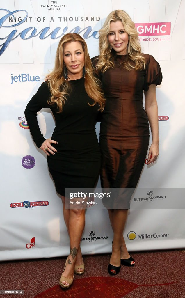 Taylor Dayne and Aviva Drescher attend the 27th Annual Night Of A Thousand Gowns at the Hilton New York on April 6 2013 in New York City